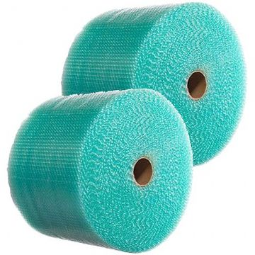 300mm x 100m Small Green Recyclable Bubble Wrap